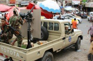 الحكومة الشرعية اليمنية تحمل الإمارات العربية المتحدة مسؤولية الانقلاب الذي شهدته مدينة عدن