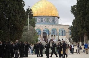 شرطة الاحتلال الإسرائيلي تستنفر قواتها في القدس المحتلة وسط دعوات لاقتحام الأقصى